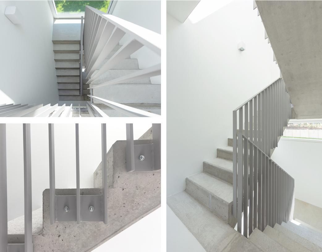 Treppenhaus Sichtbeton