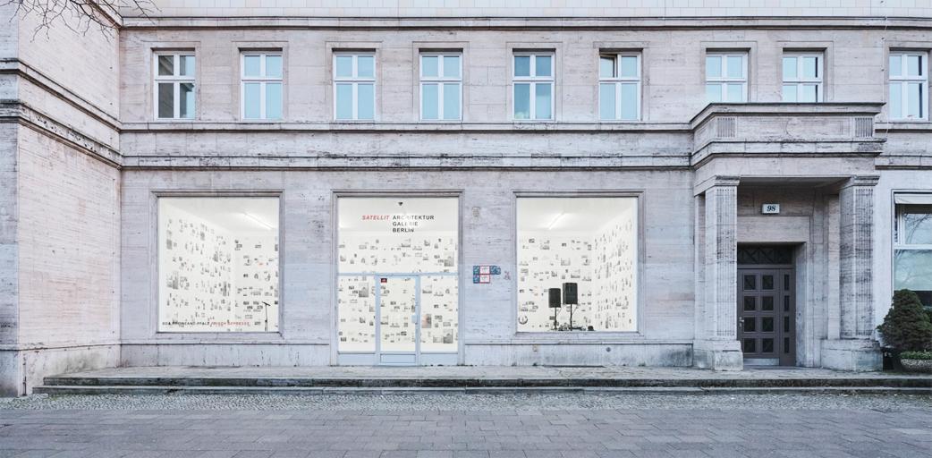 Architekturgalerie Berlin - Frisch gepresst